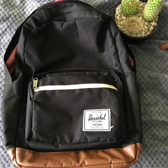 3cab00d1c5 Herschel Supply Company Handbags - Black Hershel Pop Quiz backpack